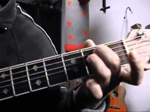 PRINCIPIANTI: Suonare l'accordo di Mi minore sulla chitarra