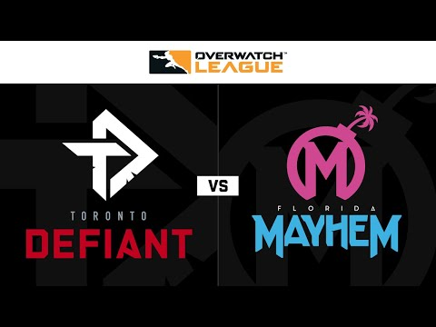 Florida Mayhem vs Toronto Defiant vod