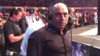 NEWS - Joe Rogan's face ⁄ reaction after Ronda Rousey knockout by Holly Holm at UFC 193 20.11.2015