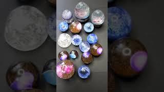 몽환적인 우주 알, 쥬얼리 문진( Dreamy cosmic egg, jewelry paperweight )#…