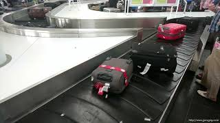 Flightlog / AUH-MUC / baggage claim area in the MUC