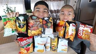 TEUER VS GÜNSTIG !!! Chips Challenge | PrankBrosTV