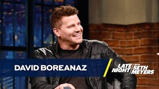 David Boreanaz Looks Back at 12 Seasons of Hair