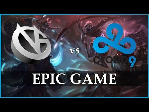 VG Vs C9 Epic Grand Final Game 3 @ The Summit 2