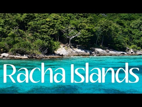 Phuket Racha Islands | The Best Island in Thailand for Snorkeling 4K