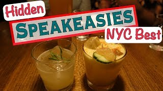 BEST SPEAKEASY BARS NYC - What to do in New York this weekend!