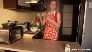 Остеохондроз поясничного отдела питание! Рецепт овсяного печенья.