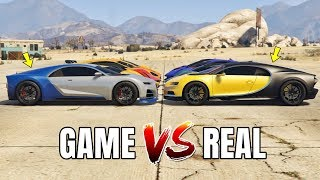 GTA 5 ONLINE - GTA 5 CARS VS REAL LIFE CARS PART #04 (WHICH IS FASTEST?)