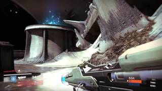 Destiny Cathedral of Dusk Gameplay NEW Map | The Taken King