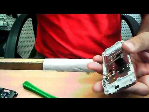 YouTube - Sony Ericsson C903 disassembling training mobile phone urdu.flv