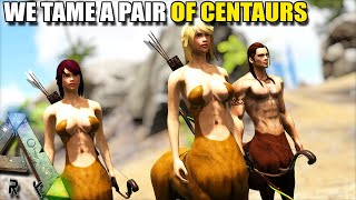 TAMING A CENTAUR AND FIXING UP THE BASE | MYTHICAL BEASTS | ARK SURVIVAL EVOLVED [S2 EP2]
