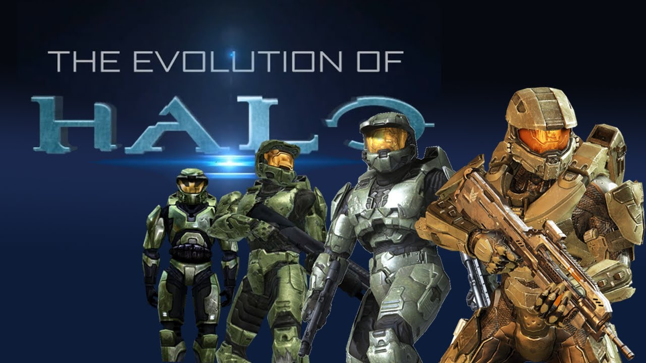 The Evolution Of Halo  The Story Of A Legend  Youtube