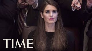 Hope Hicks To Resign As President Trump's White House Communications Director | TIME