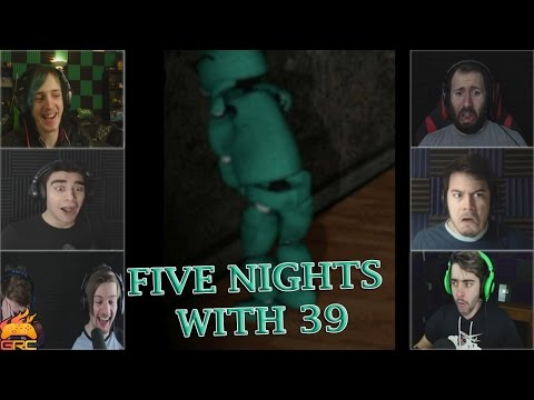 Gamers Reactions to the Viral Video | Five Nights With 39