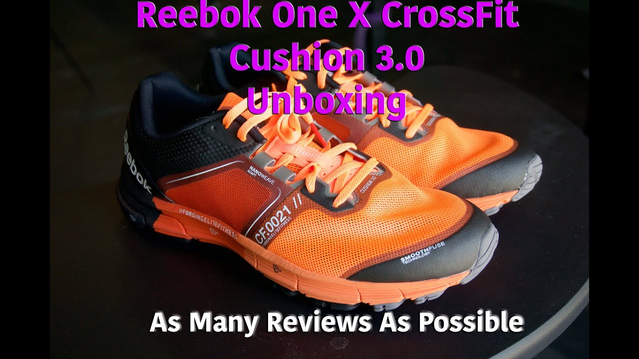 421c06c062af6c Unboxing the Reebok One X CrossFit Cushion 3.0 Running CrossFit Shoes