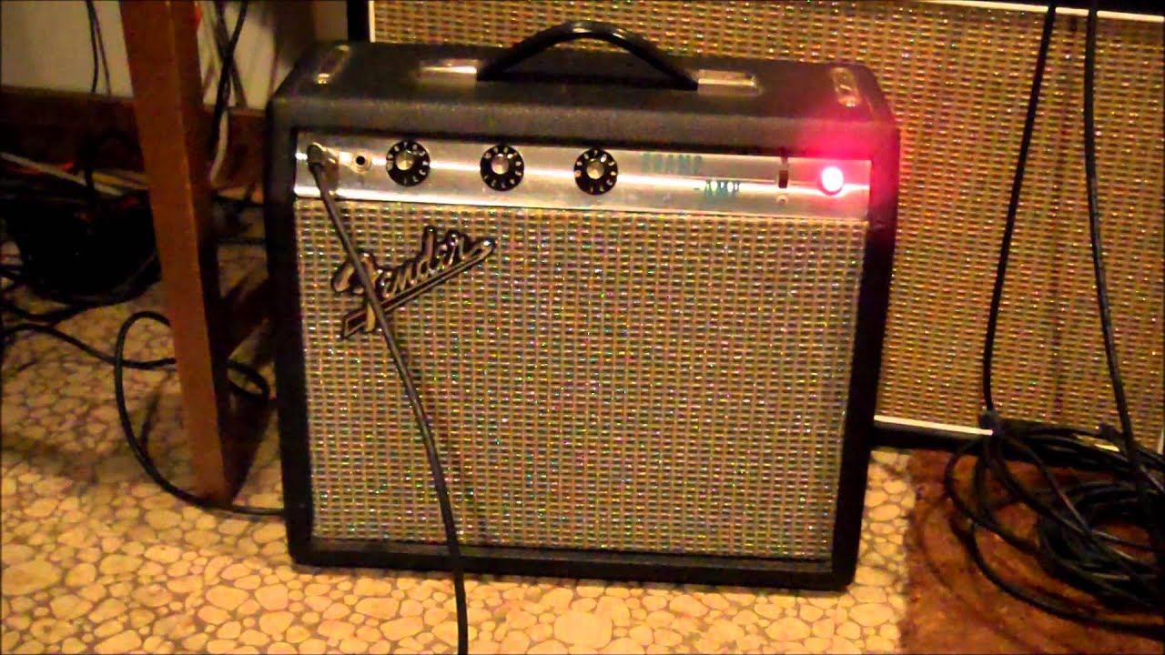 1970 Fender Champ with Warehouse Guitar Speakers G8C