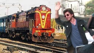 Shahrukh Khan Leaves House Mannat To Travel By Train To Delhi For Raees Promotion