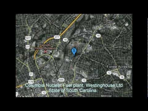 US Nuclear Uranium Incident: Medical Emergency Columbia Nuclear Fuel plant South Carolina