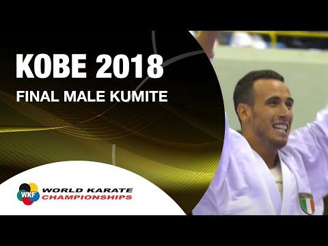 FINAL. Male Kumite -67kg. 2018 FISU World University Karate Championships