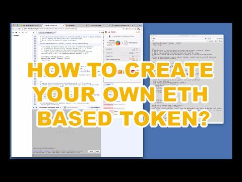 Demo on How to Create your Own Ethereum Based Token on Ropsten Test Network With Metamask