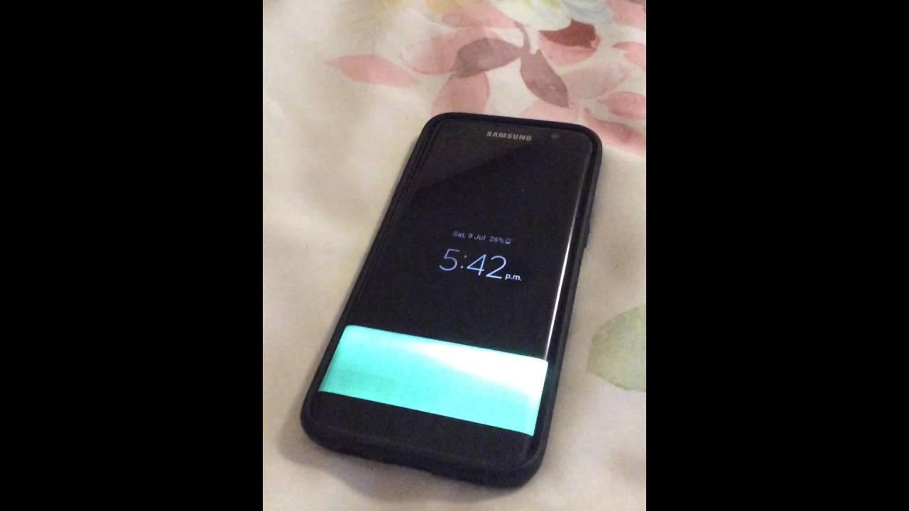Brand New Samsung Galaxy S7 Edge Screen Flickering Issue