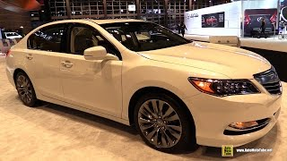 2016 Acura RLX Advance - Exterior and Interior Walkaround - 2016 Chicago Auto Show