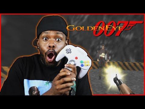 ONE OF MY FAVORITE RETRO GAMES OF ALL TIME! - 007 Golden Eye | #ThrowbackThursday