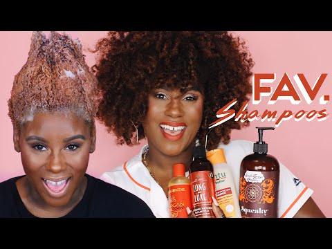 My Top 5 Favorite Shampoos For Natural Color Treated Hair