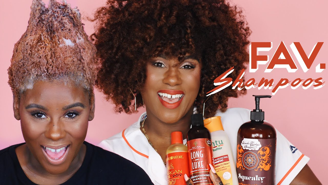 My Top 5 Favorite Shampoos For Natural Color Treated Hair Youtube