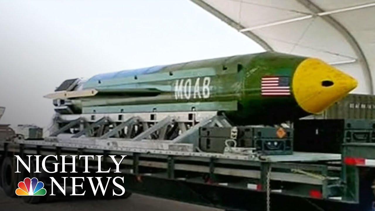 US Military Drops Its Largest Non-Nuclear Bomb Ever Used ...
