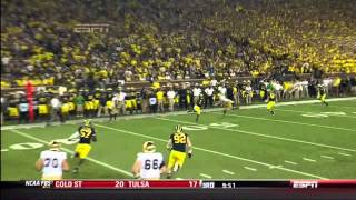 2013 Michigan football highlights vs. ND