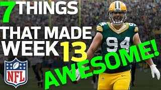 7 Things that Made Week 13 AWESOME! ✨🌟  | NFL Rush Highlights
