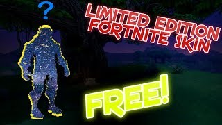 Unlocking This Limited Edition Skin For Free In Fortnite