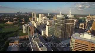 Worlds Largest Medical Center Complex- Houston  4K- HD