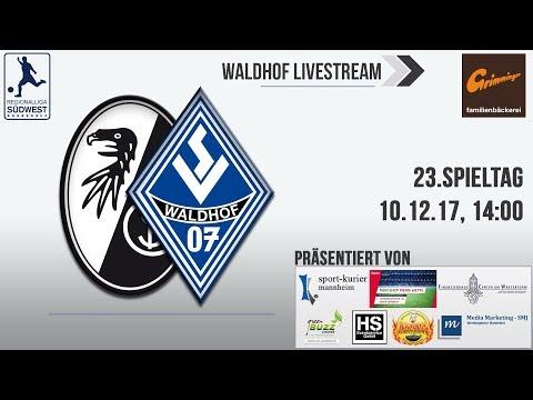 23.Spieltag: SC Freiburg II - SV Waldhof