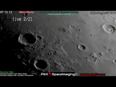 LIVE TELESCOPE! AT THE DIFFRACTION LIMIT! 2-21-18