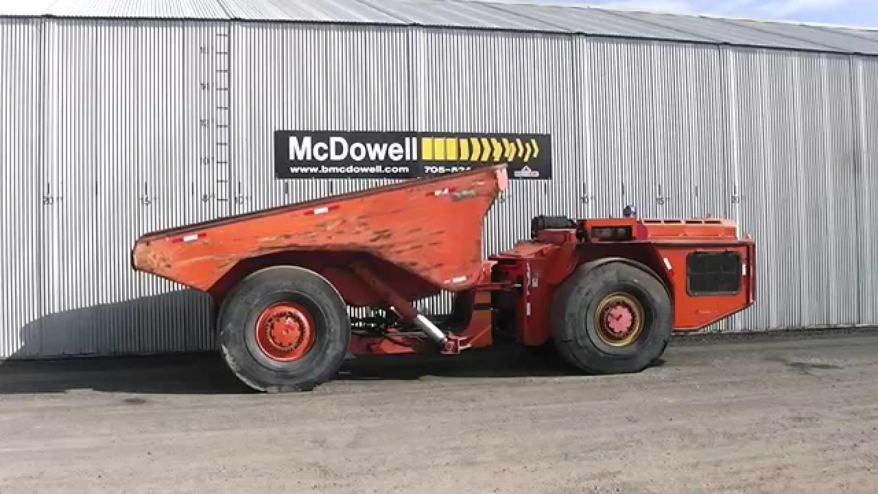 McDowell Equipment - Sandvik Tamrock EJC 430 Underground Haulage Truck