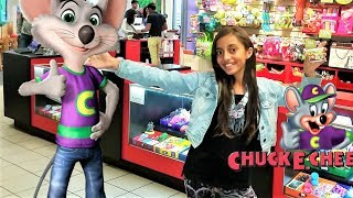 CHUCK E CHEESE'S  family fun indoor playground games and play area for kids!!