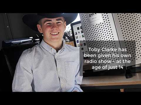 The Norfolk 14 year old with his own Country Music Radio show
