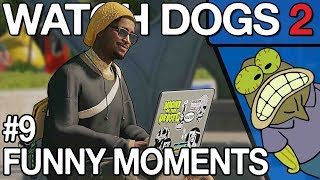 Watch Dogs 2 - Funny WTF PVP Moments #9