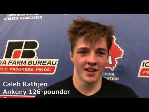 Ankeny's Caleb Rathjen Is Back In The State Finals