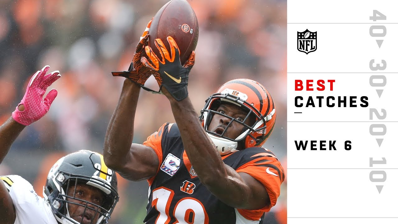 Best Catches from Sunday | NFL Week 6 Highlights
