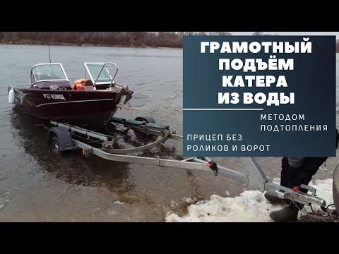 Подъём катера (лодки)