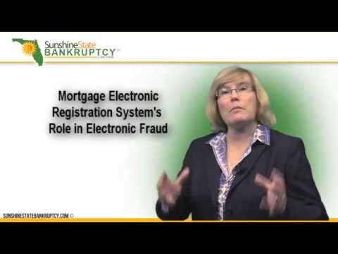 Mortgage Electronic Registration System's Role in Electronic Fraud
