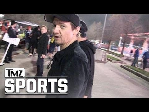 JEREMY RENNER BRADY'S A LEGEND ...Beat Bradshaw, Montana!!! | TMZ Sports