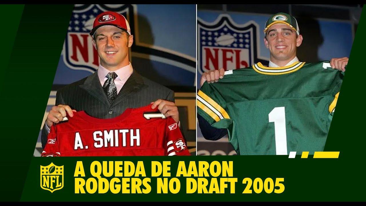 História NFL:  A Queda de Aaron Rodgers no Draft (REMASTERIZADO)