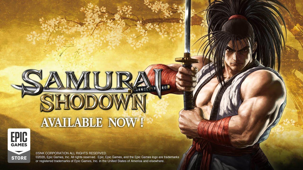 SAMURAI SHODOWN Epic Games Store - Launch Trailer