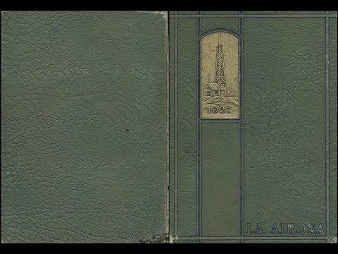 1927 Amarillo High School yearbook:  La Airosa