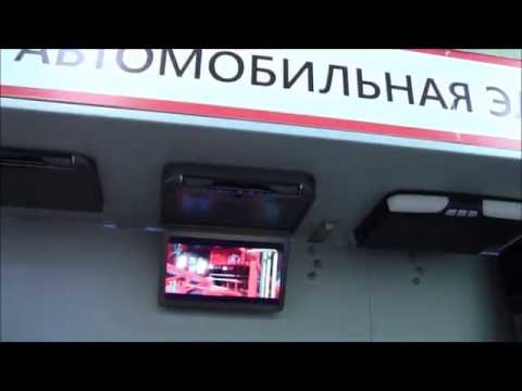 Обзор потолочного автомонитора с DVD AVS440T