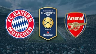 BAYERN MUNICH VS ARSENAL LIVE HD EN VIVO